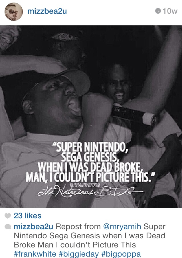 Biggie IG Tributes [PHOTOS]