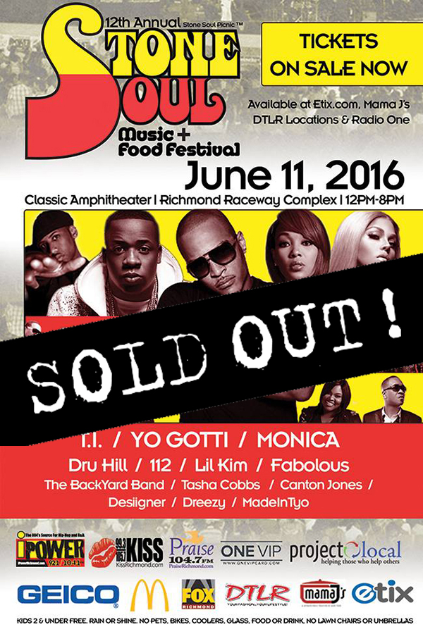 Stone Soul Sold Out