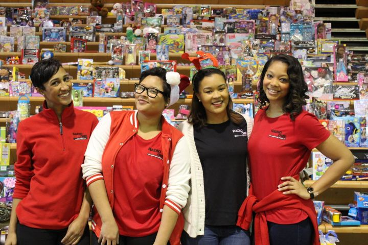 Radio One Holiday Toy Drive