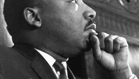 Martin Luther King Jr. Before a Speech