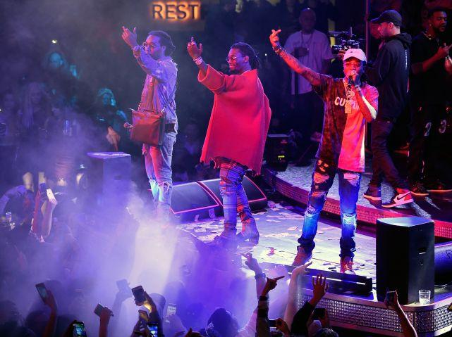 Migos Performs At Drai's Beach Club - Nightclub In Las Vegas