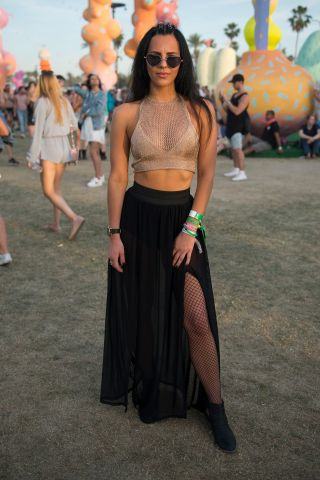 Street Style At The 2017 Coachella Valley Music And Arts Festival - Weekend 1