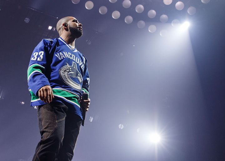 Drake Performs At Pepsi Live At Rogers Arena