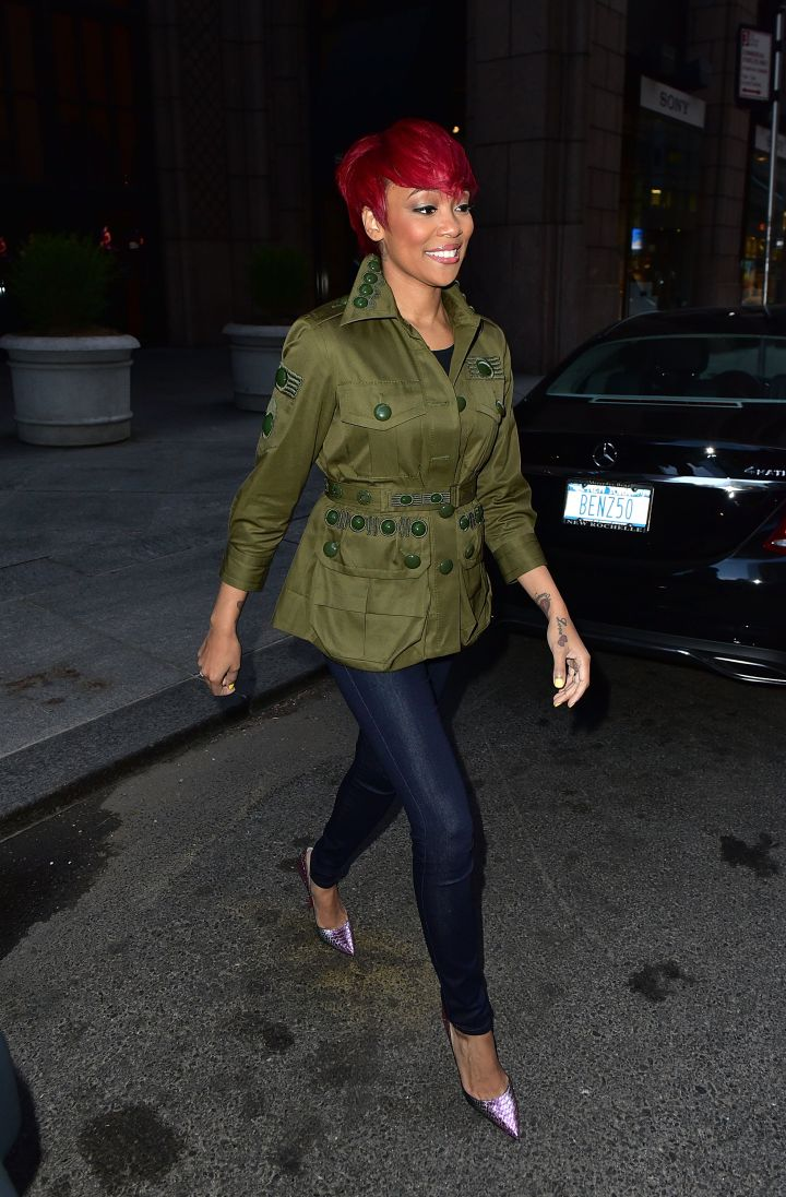 Celebrity Sightings In New York City – April 30, 2015