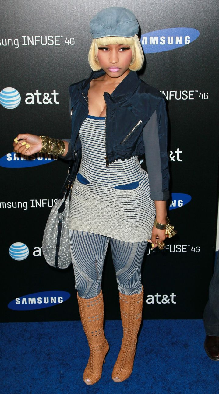 Samsung Infuse 4G Launch Event Featuring Nicki Minaj – Arrivals