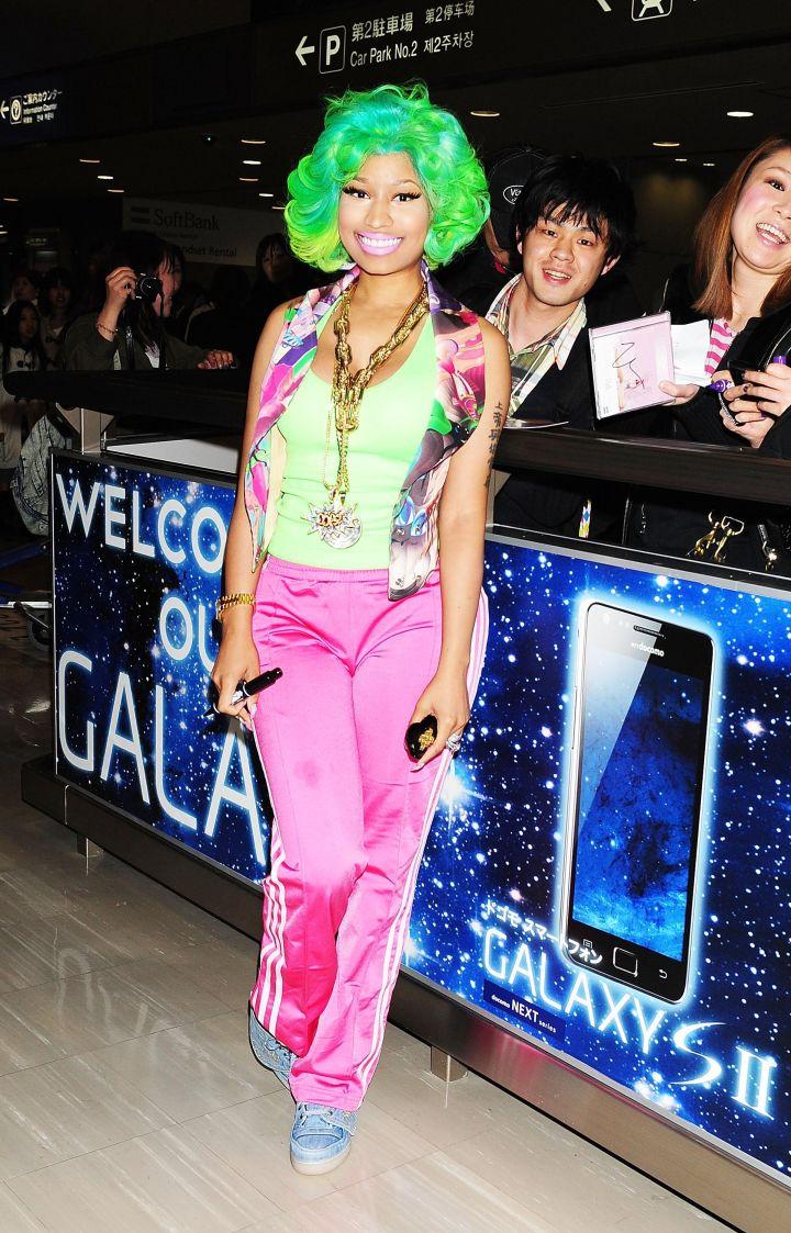 Nicki Minaj Arrives In Tokyo