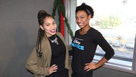 Jackie Paige w/ Chelsea Ridley of Disney on Ice