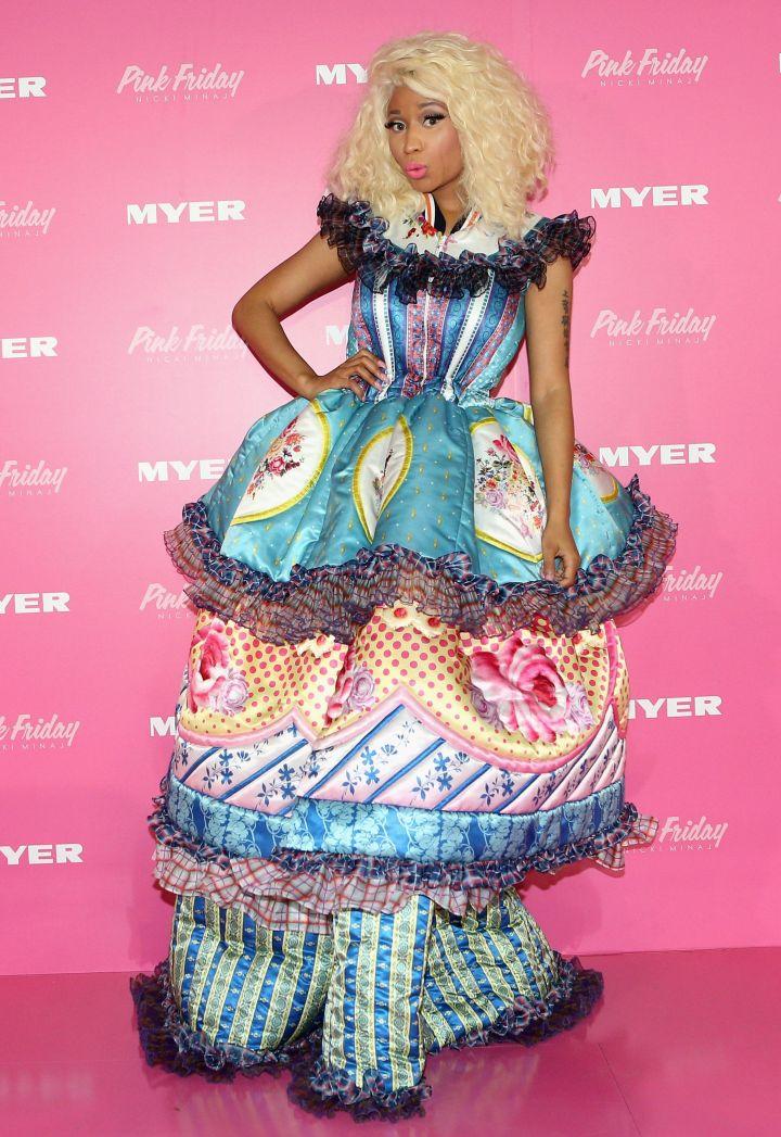 Nicki Minaj Celebrates Fragrance Launch In Sydney
