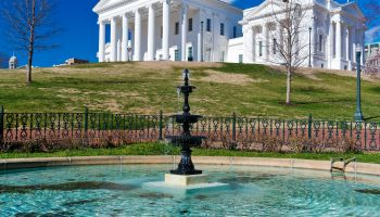 State Capitol Building In Richmond, Virginia
