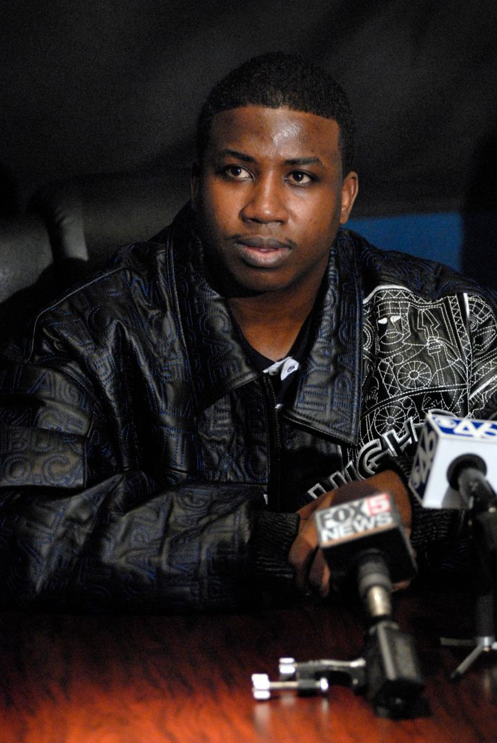 Gucci Mane Press Conference After His Release from Jail - January 17, 2006