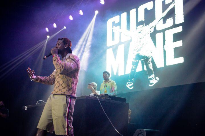 1 BIG DAMN CONCERT W/ Gucci Mane