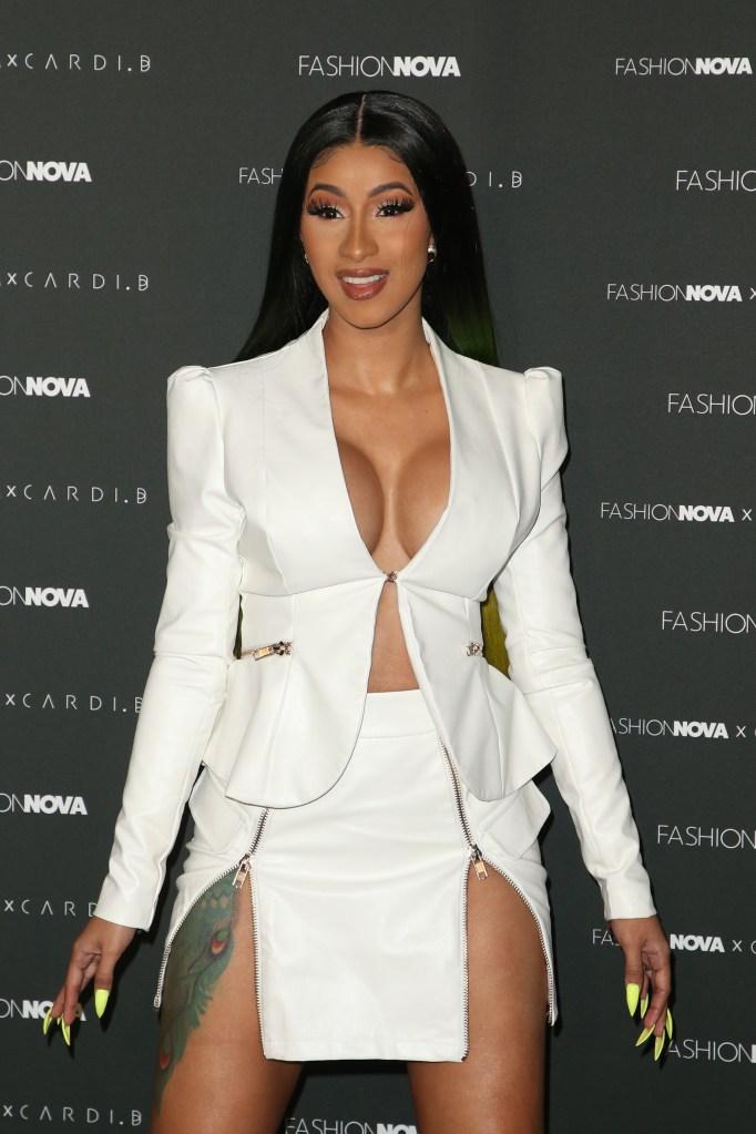 Fashion Nova x Cardi B Collection Launch Party