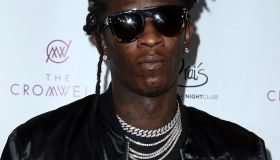 Rapper Young Thug Performs at Drais