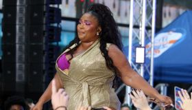 "Singer LIZZO Performs Live on NBC's ""TODAY""\nRockefeller Plaza\nNew York, NY\nAugust 23, 2019"
