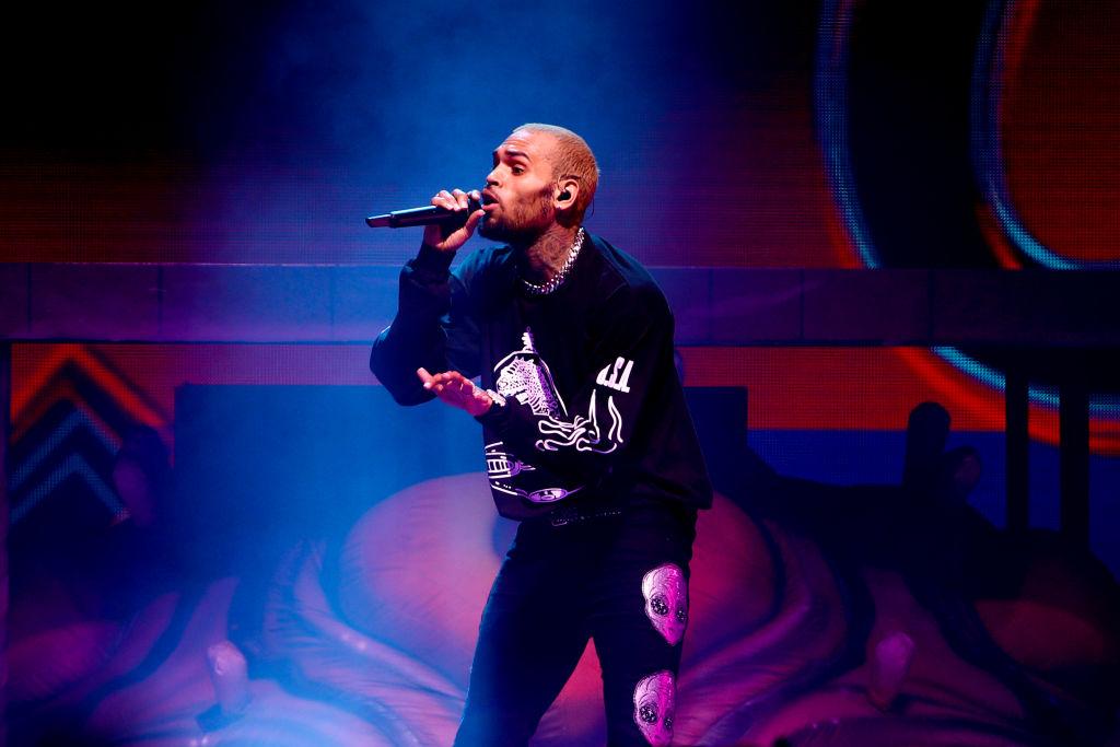 Chris Brown In Concert - Los Angeles, CA