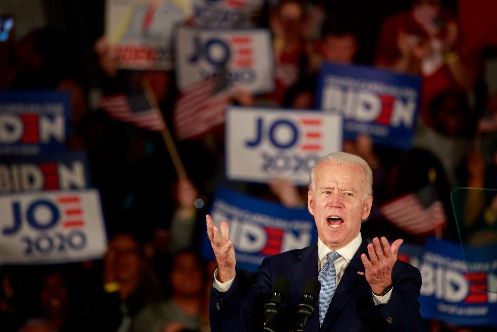 Joe Biden wins the South Carolina Primary in Columbia, US