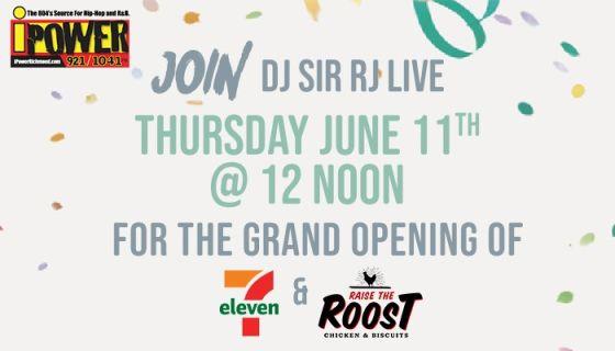 WATCH the 7-Eleven VIRTUAL REMOTE w/ DJ Sir RJ & iPowerRichmond