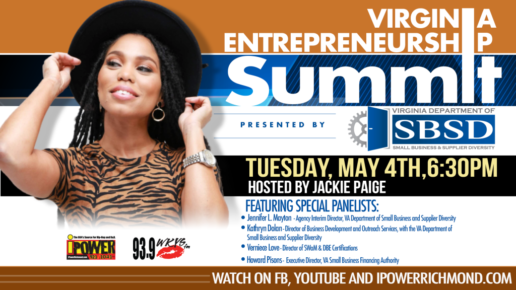 Virginia Entrepreneurship Summit with Jackie Paige