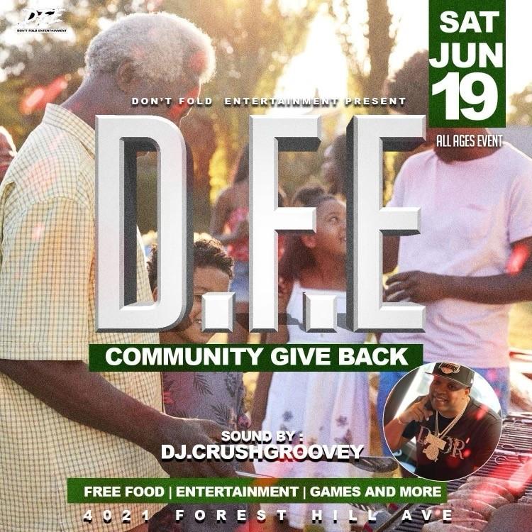 Community Give Back
